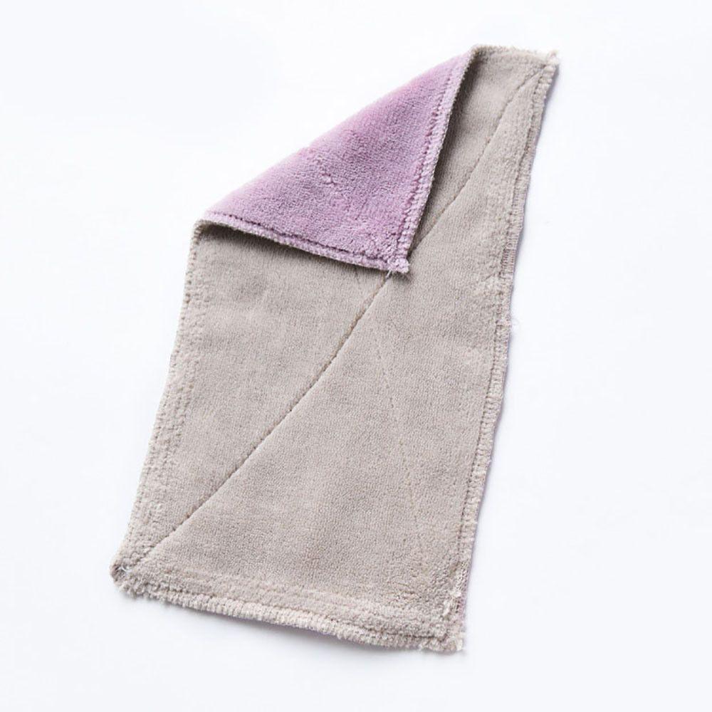 Bamboo Fiber Magic Anti Grease Cleaning Washing Towel Dish Cloth Wiping Rags