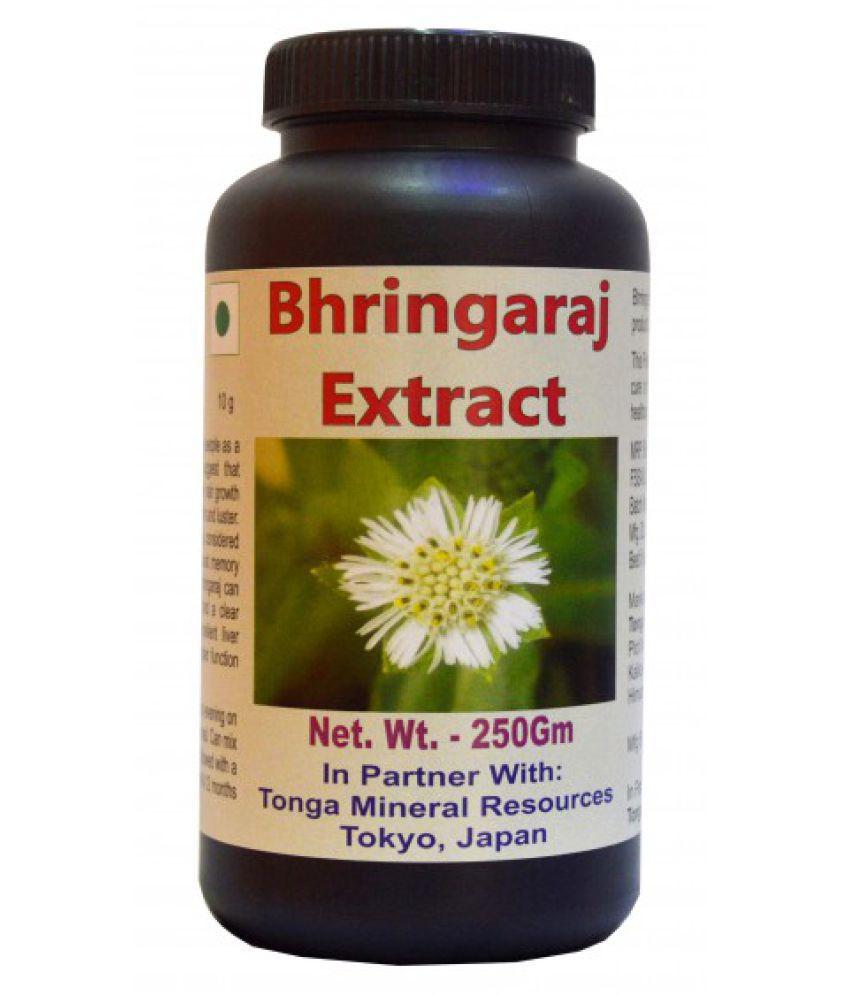 Tonga Herbs Bhringaraj Extract Tea - 250 Gm (Buy Any Supplement Get The Same 60ml Drops Free) Powder 250 gm