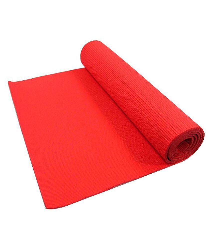 R home Red Single Floor Mat