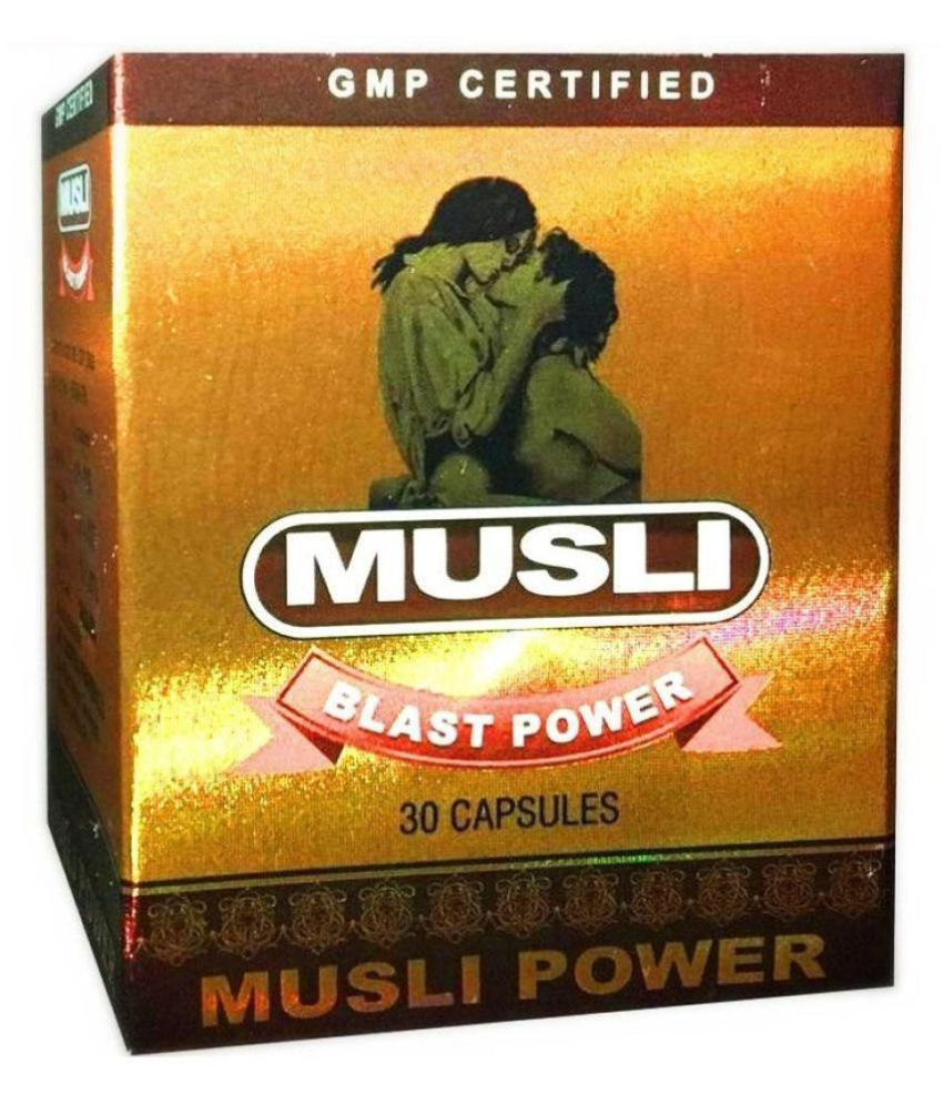 Dr Chopra Musli Blast Power (30x2=60) Capsule 30 no.s Pack Of 2