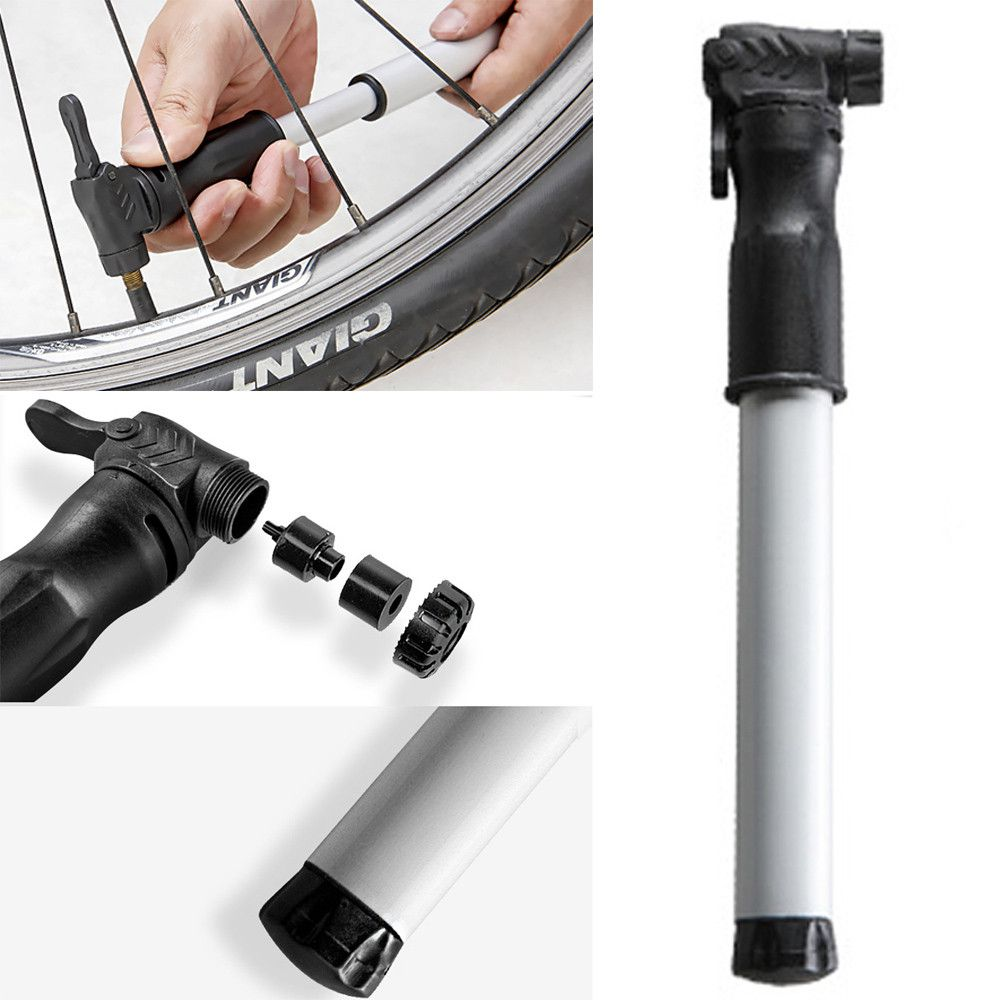 Mini High Pressure Hand Bicycle Cycling Bike Air Pump Inflator Tyre Tire Ball