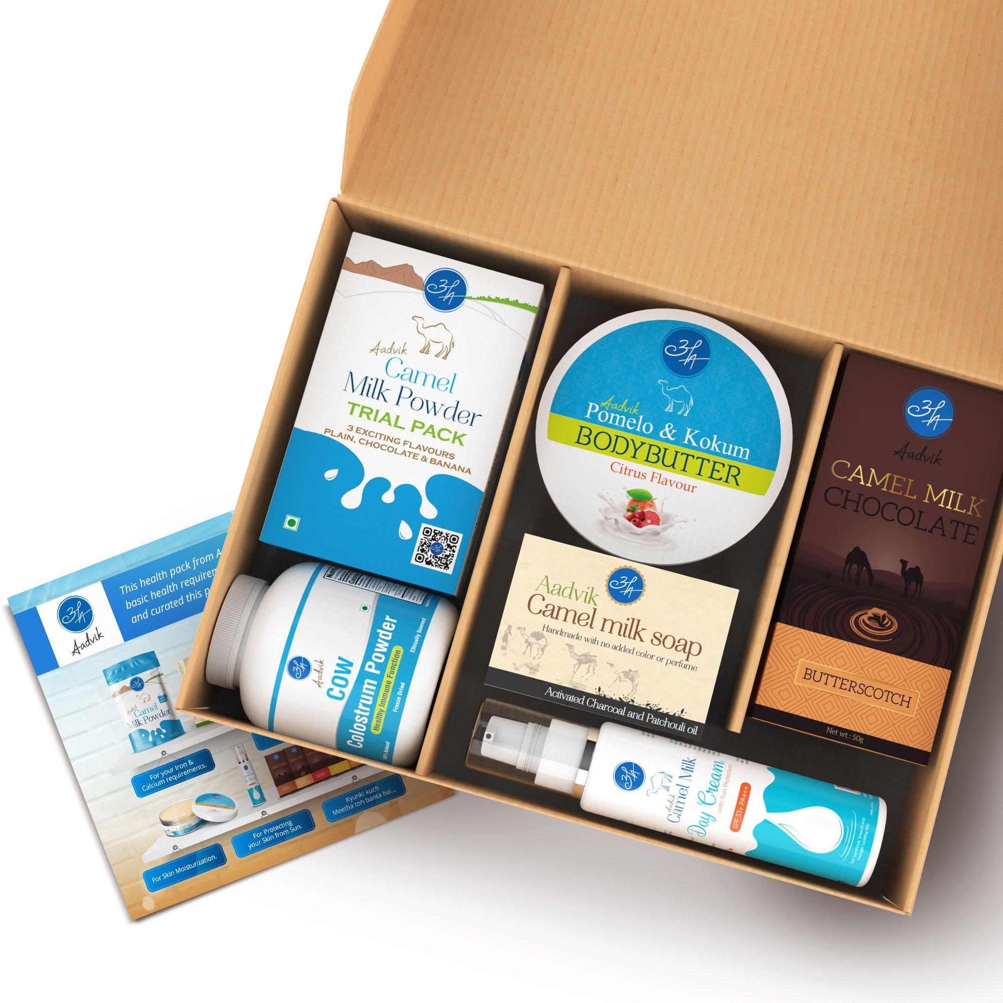 Aadvik Camel Milk Products Gift Pack Assorted Box 1200 gm