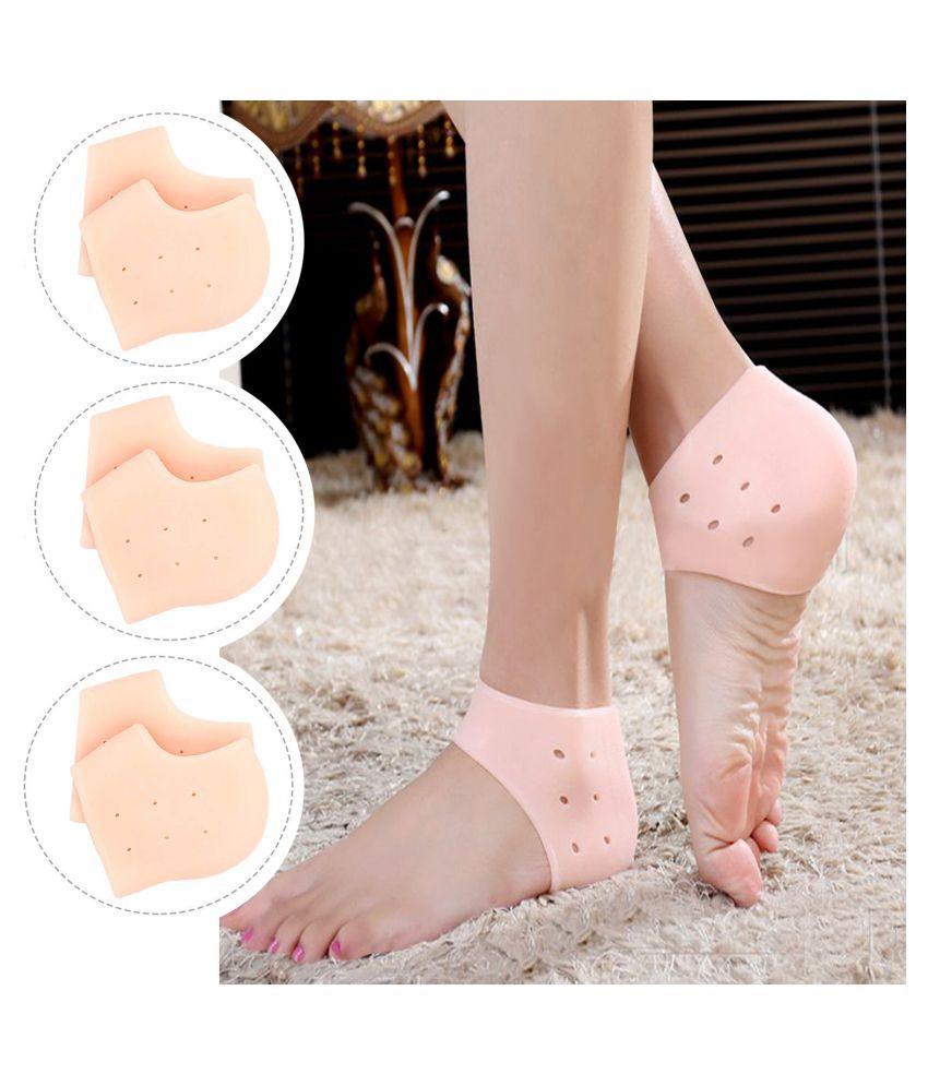 ARADENT Reusable Moisturizing Socks 3 Pairs Pack of 6