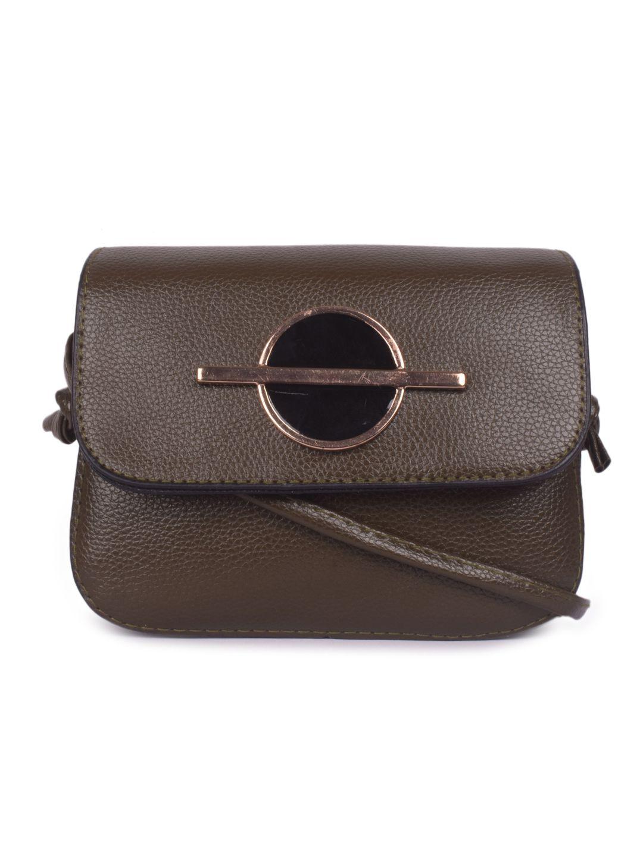 Bagkok Green P.U. Sling Bag