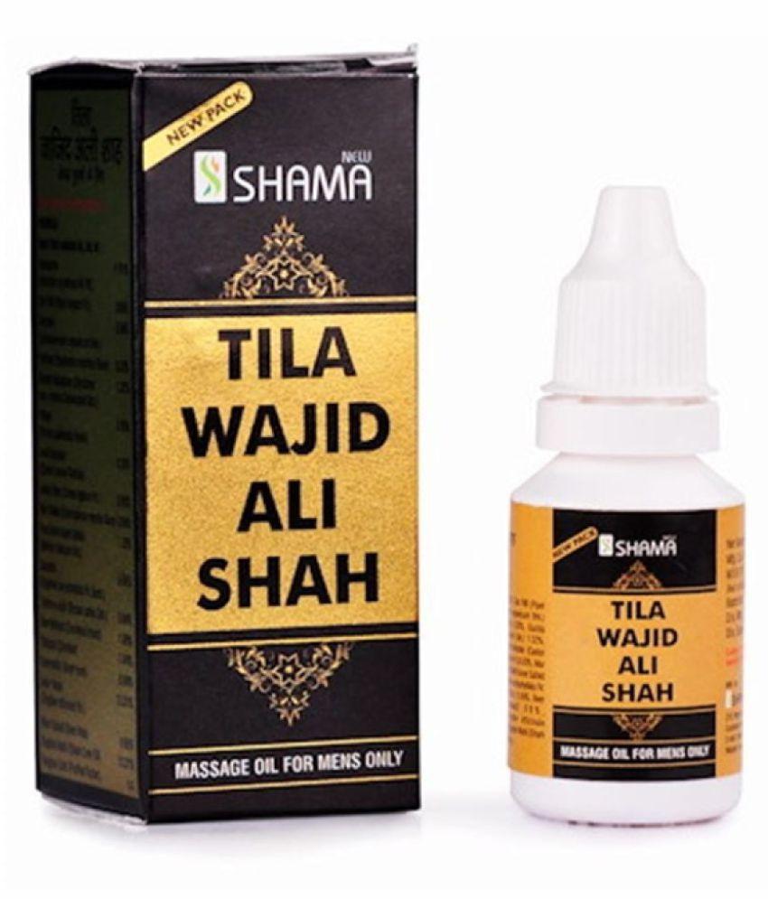 Ayurveda Cure New Shama Tilla Wajid Ali Shah Oil 15 ml Pack Of 4