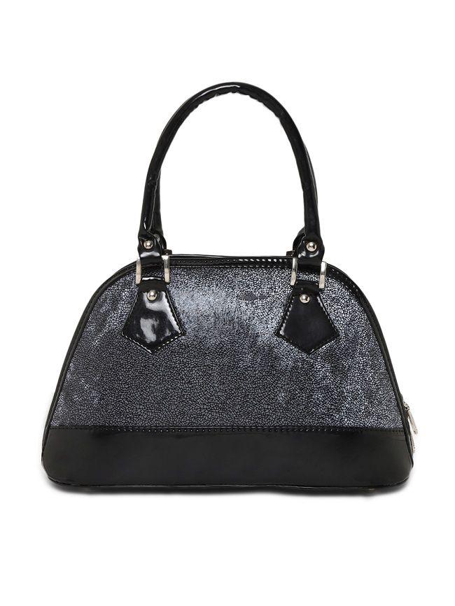 Aliado Silver Synthetic Casual Messenger Bag