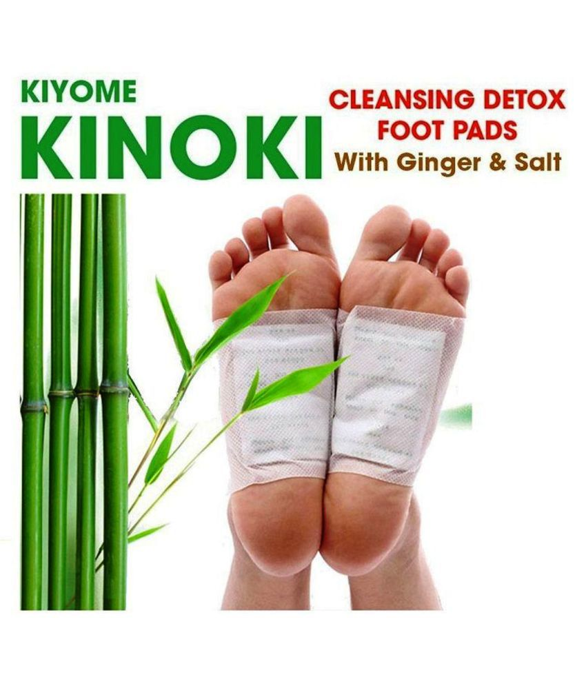 Kinoki Cleansing Detox Foot 30 Pads White and Gold Free Size