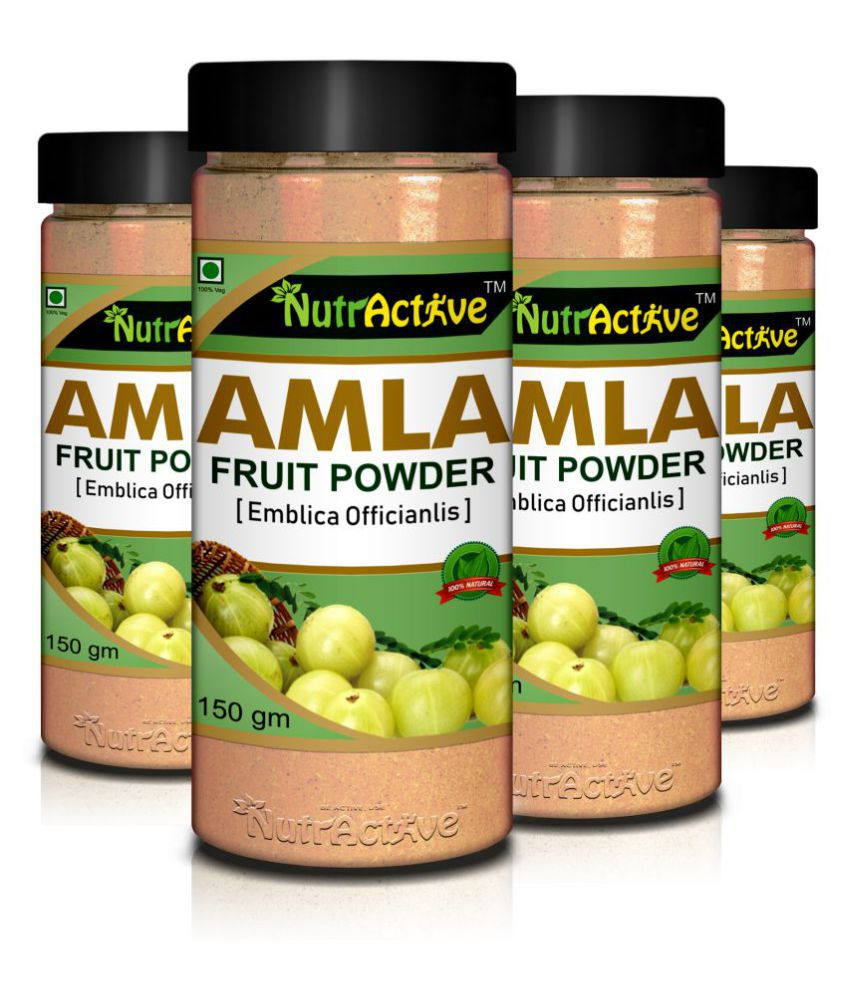 NutrActive NutrActive Amla Fruit Powder Powder 600 gm Pack Of 4