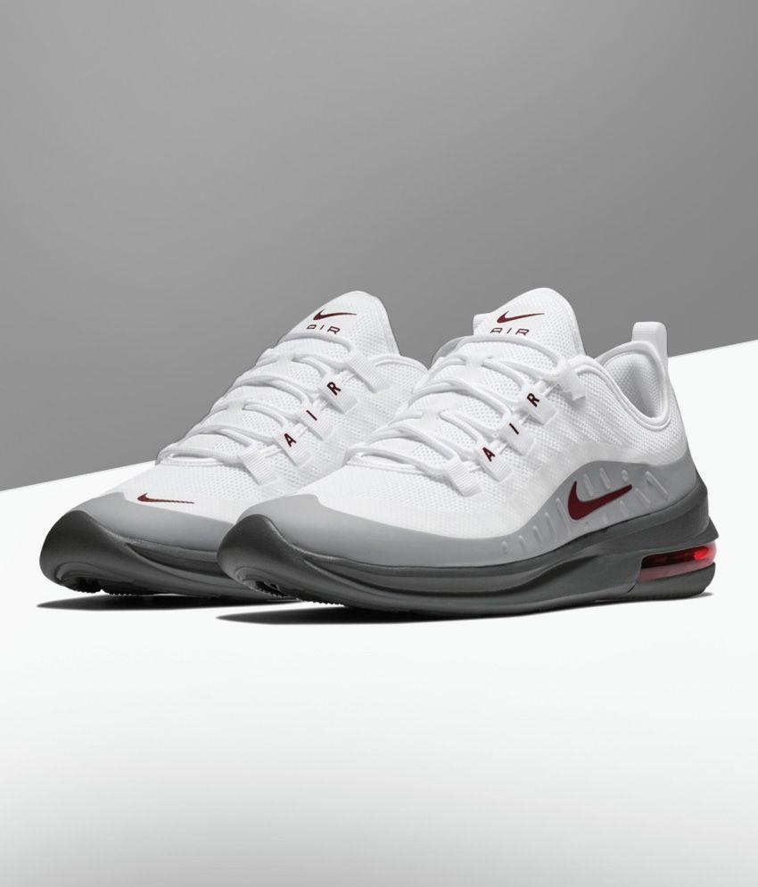 autoryzowana strona Najnowsza moda tania wyprzedaż Nike AIR MAX AXIS White Running Shoes