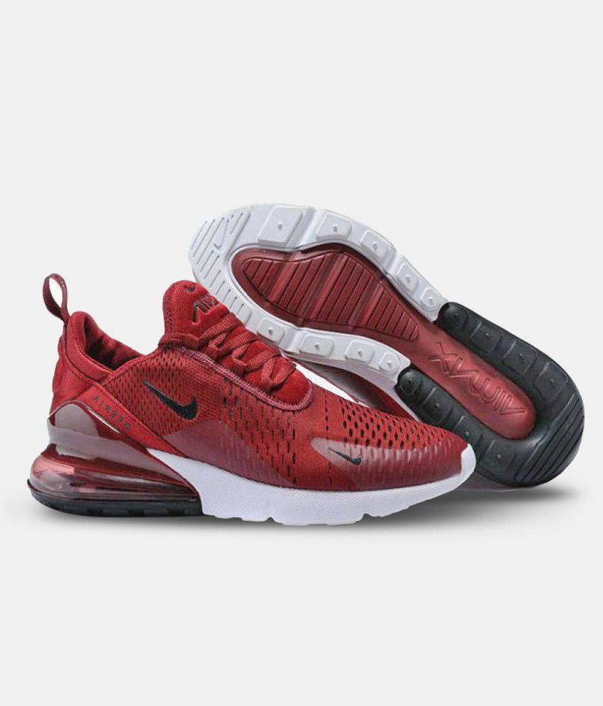 Nike AIR Max 270 Maroon Running Shoes