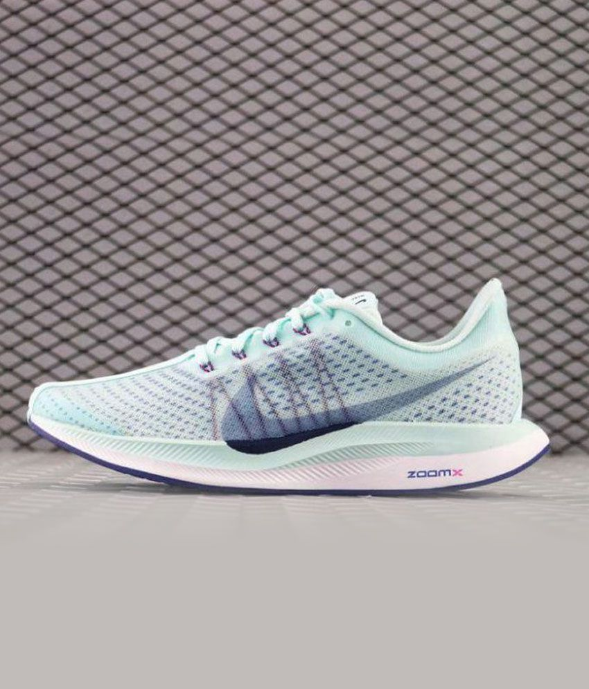 Motel A veces a veces bádminton  Nike ZOOM X Running Shoes Green: Buy Online at Best Price on Snapdeal