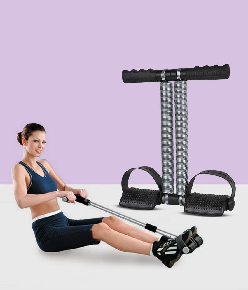 Anything  amp; Everything Double Spring Tummy Trimmer Ab Exerciser