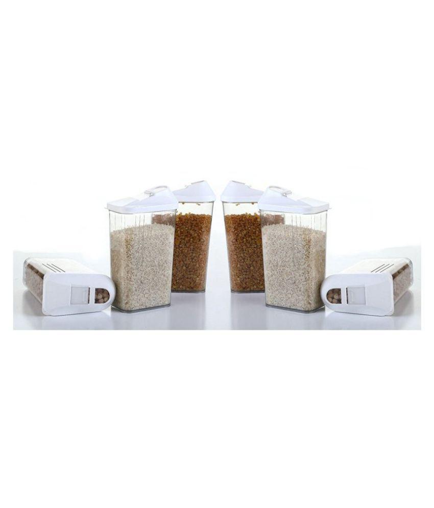 Jen 6 Cereal Dispenser Polyproplene Dal Container Set of 6 750 mL