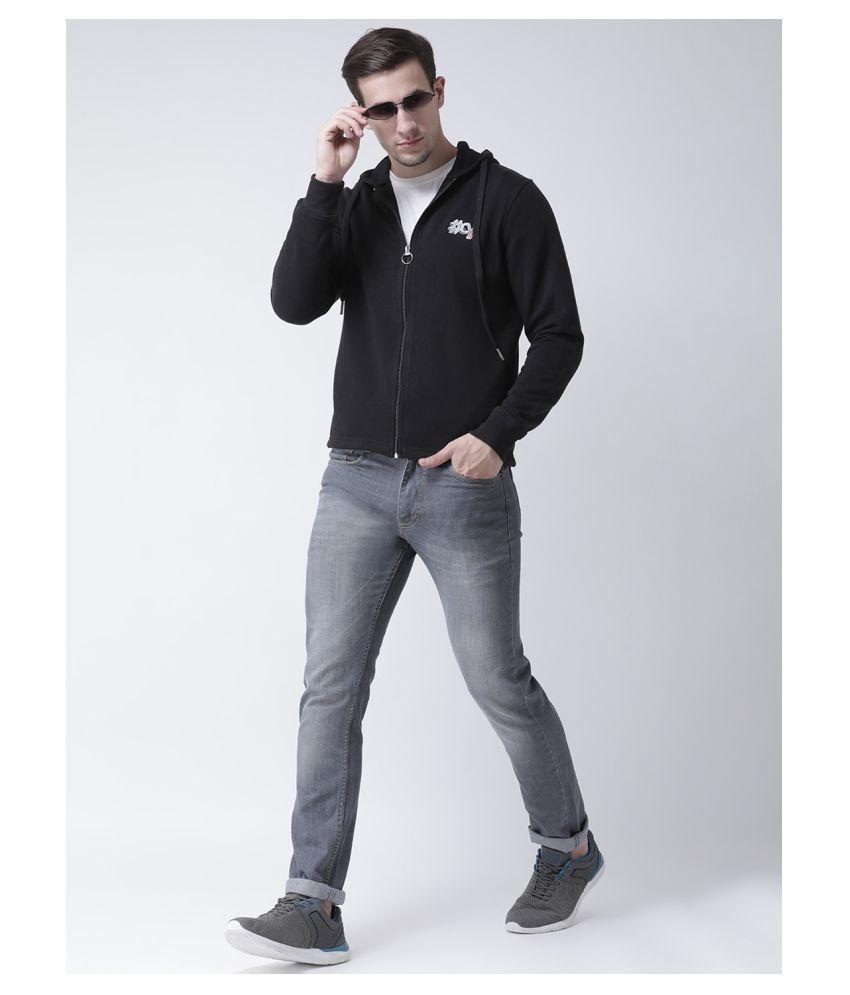 Club York Black Hooded Sweatshirt