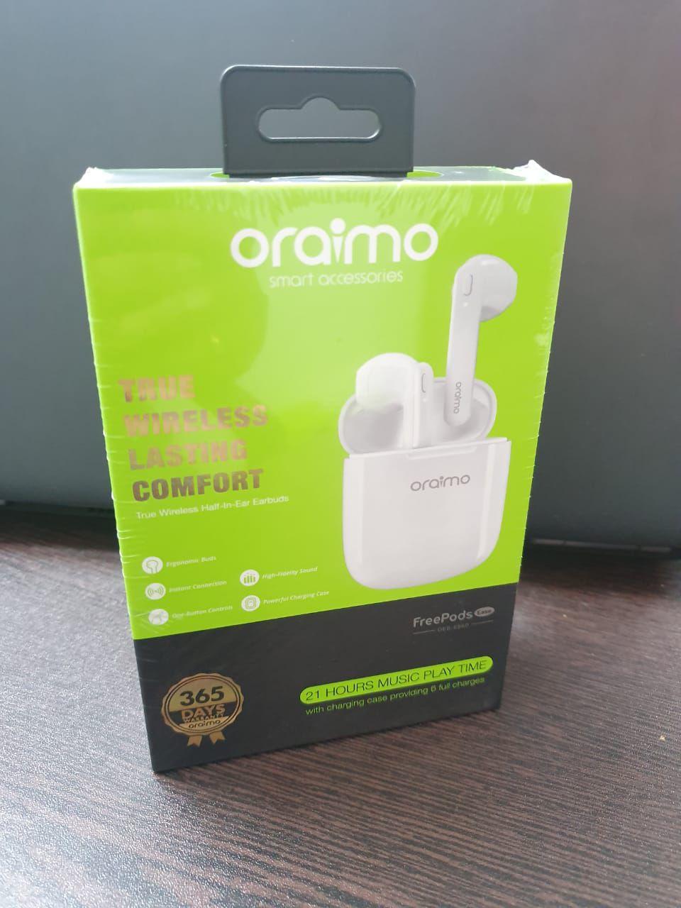 oraimo Freepods OEB,E98D Apple Style Ear Buds Wireless