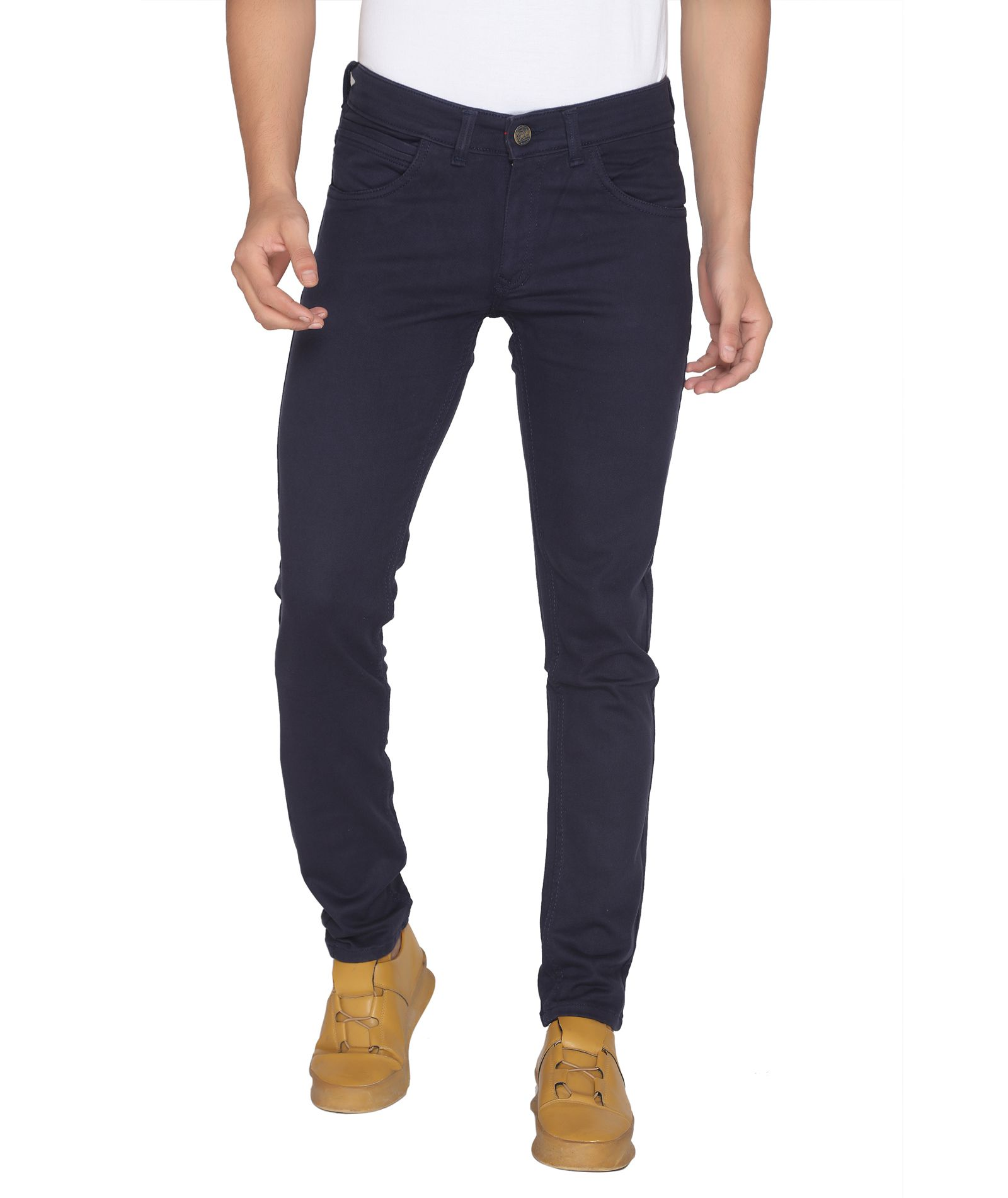 ROAD ROCKERS Dark Blue Skinny Jeans
