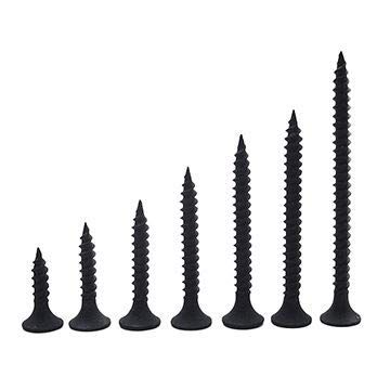 Spider Dry Wall Screws (Self Tapping) with Black Finish size 4.2 x 65mm(DWS4265)Pack of 500 Pcs.