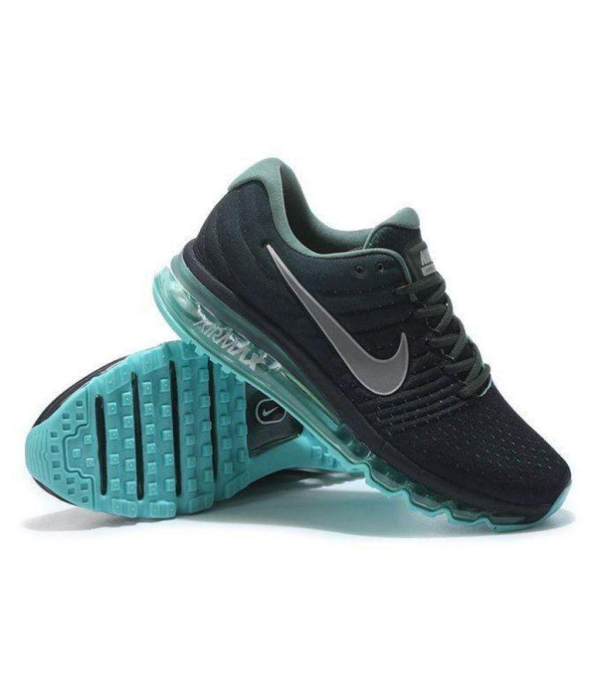 nike air max 2017 black running shoes price