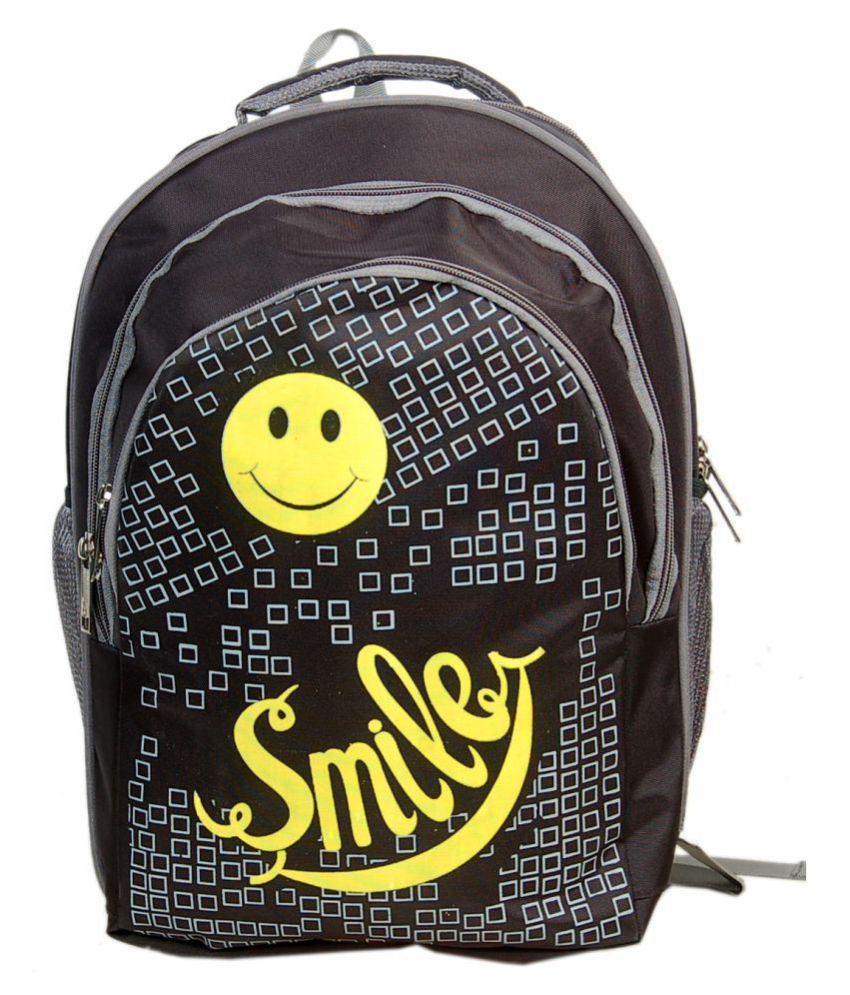 VRS BAG Black School Bag for Boys & Girls