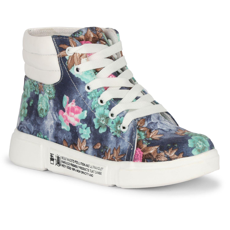 Yala Blue Casual Shoes