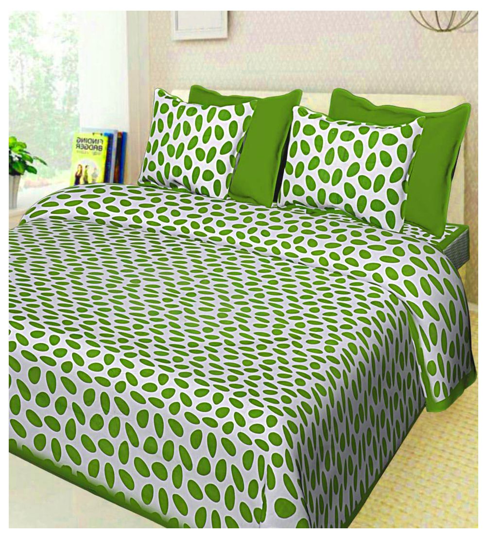 Urban Era Cotton Double Bedsheet with 2 Pillow Covers