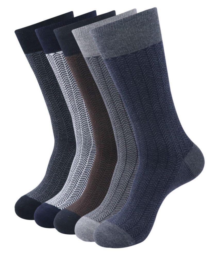 Balenzia Multi Mid Length Socks Pack of 5