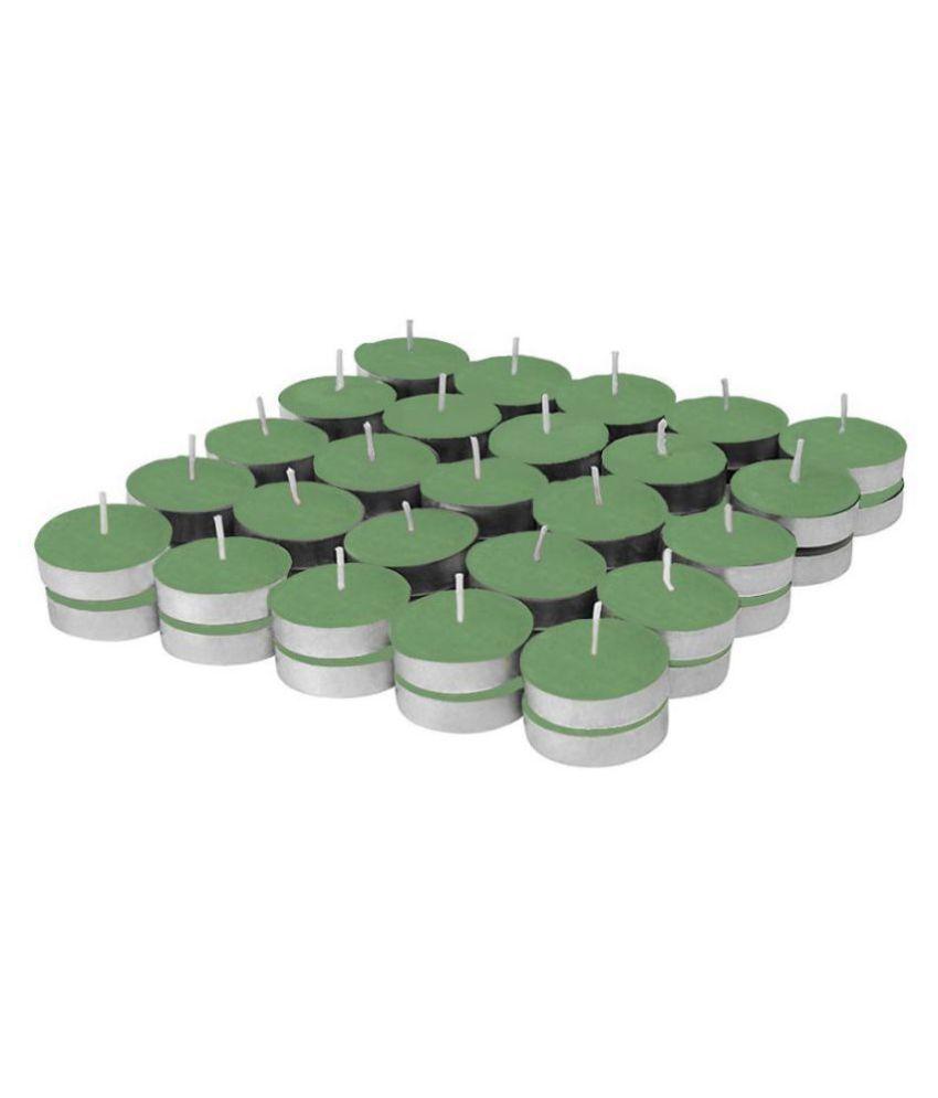 Enjoy Green Wax Tea Light - Pack of 50