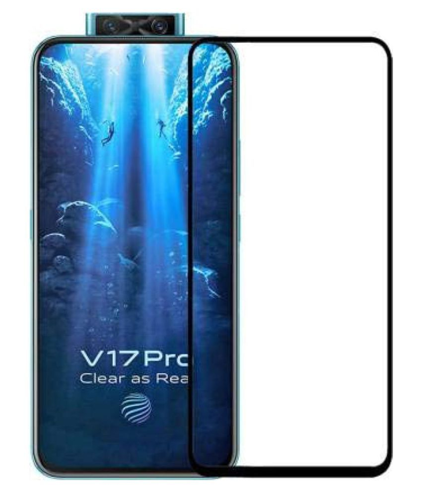 Vivo V17 Pro Tempered Glass Screen Guard By lenmax Japanese Advance Screen Protector Technology