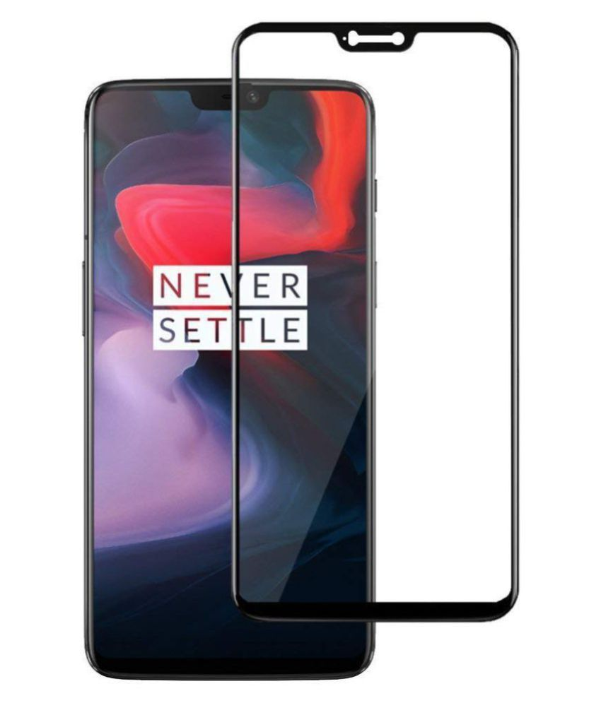 OnePlus 6 Tempered Glass Screen Guard By lenmax UV Protection, Anti Reflection