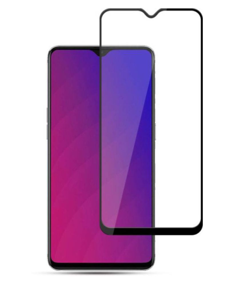 Oppo F9 Pro Tempered Glass Screen Guard By lenmax UV Protection, Anti Reflection