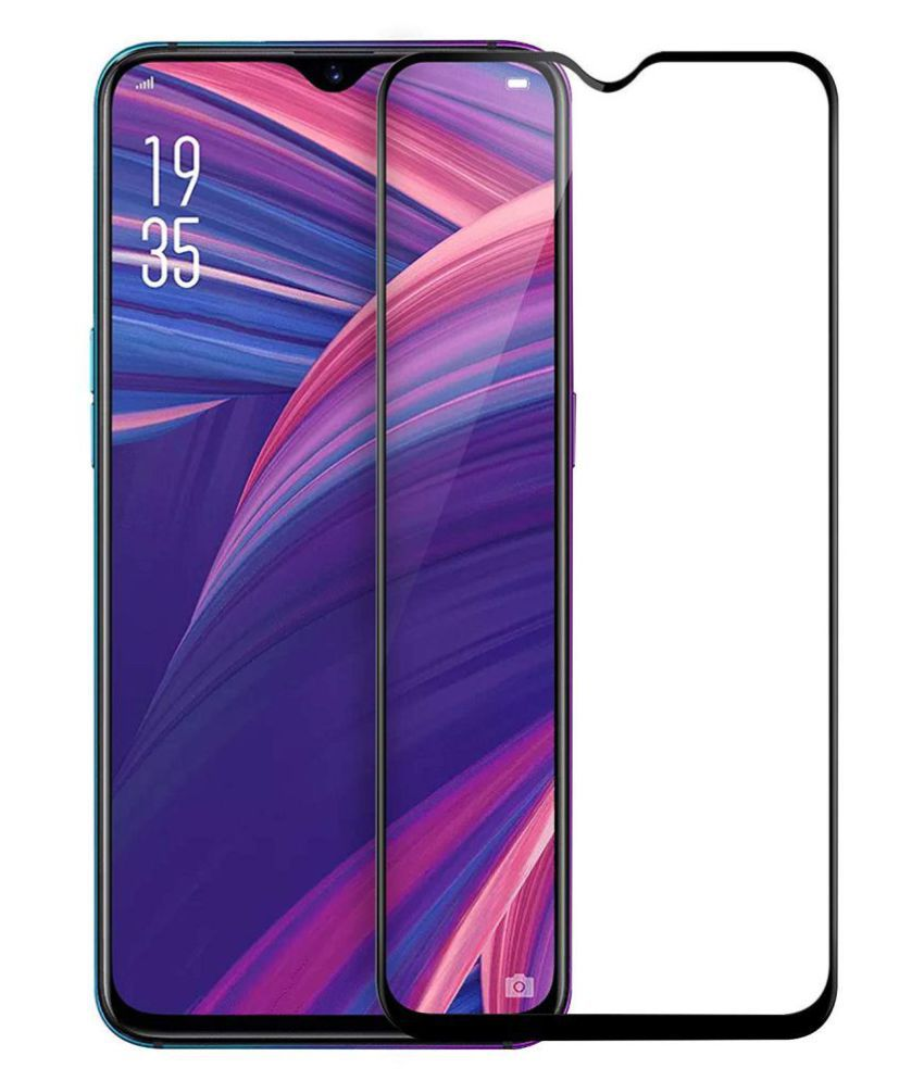Oppo R17 Pro Tempered Glass Screen Guard By lenmax UV Protection, Anti Reflection