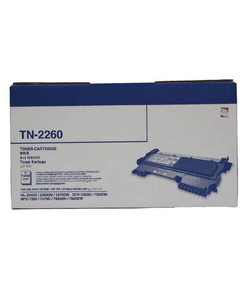 MHP TN 2260 Black Single Toner for Brother TN 2260 HL 2240,2250dn,2270dn,DCP7060d,7065dn,MFC 7630,7470d,7860dn,7860dw