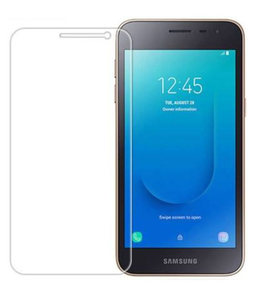 Samsung Galaxy J2 Core Tempered Glass Screen Guard By lenmax UV Protection, Anti Reflection