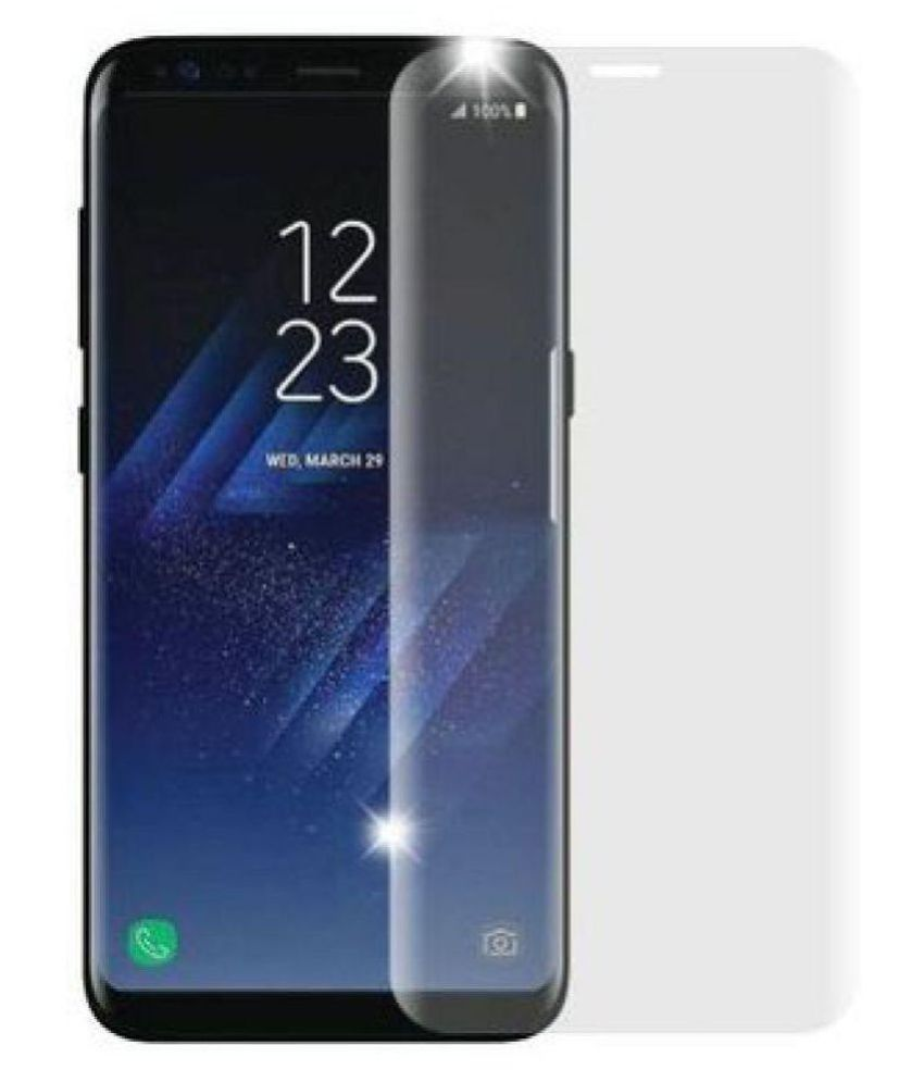 Samsung Galaxy S7 Tempered Glass Screen Guard By lenmax UV Protection, Anti Reflection