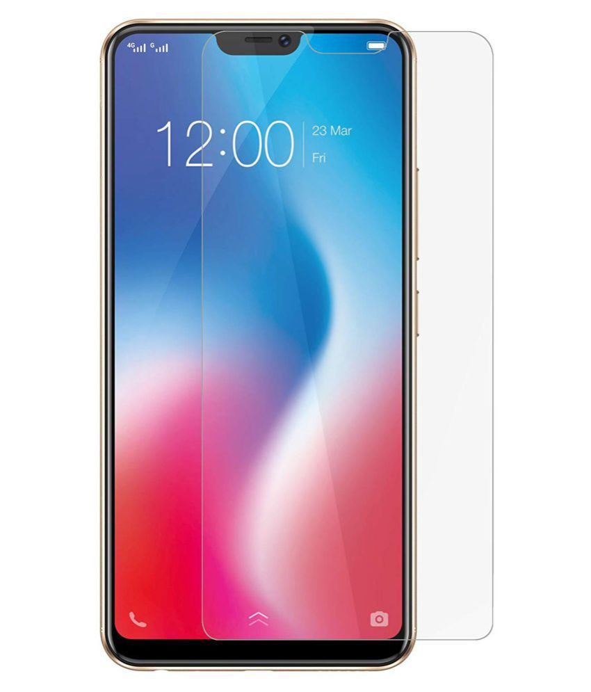 Vivo Y85 Tempered Glass Screen Guard By lenmax UV Protection, Anti Reflection