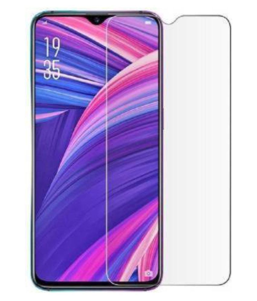 Vivo Y95 Tempered Glass Screen Guard By lenmax UV Protection, Anti Reflection