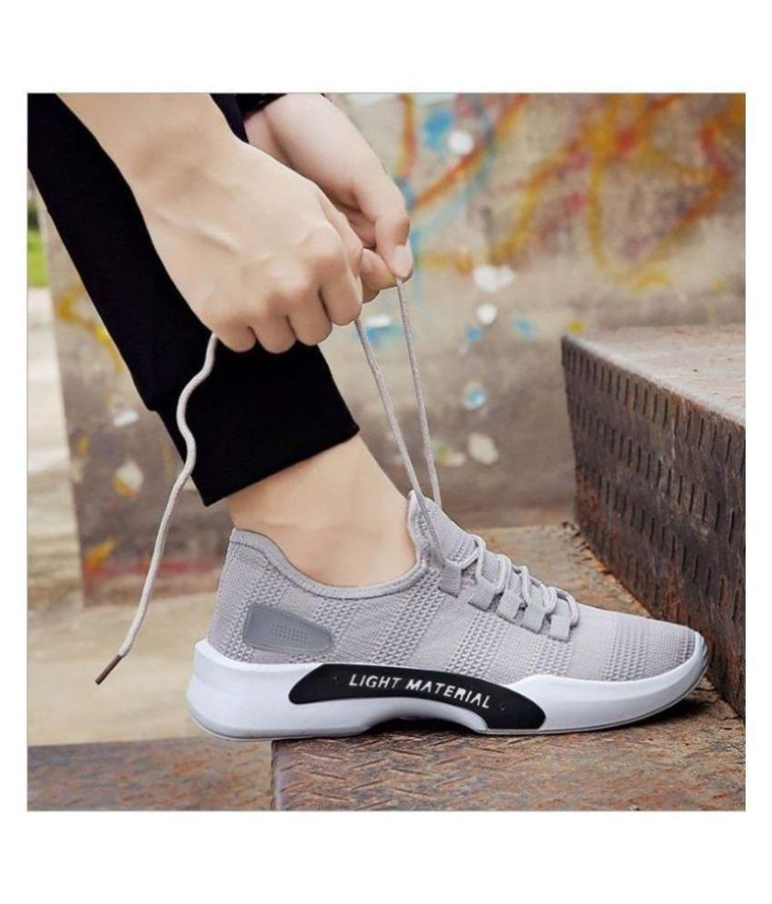 Wood Age Shoes Sneakers Gray Casual Shoes