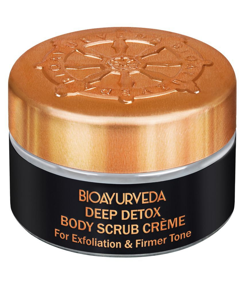 BioAyurveda Deep Detox Body Scrub Cream 20 g Cream