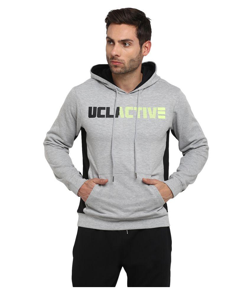 UCLA Grey Polyester Sweatshirt