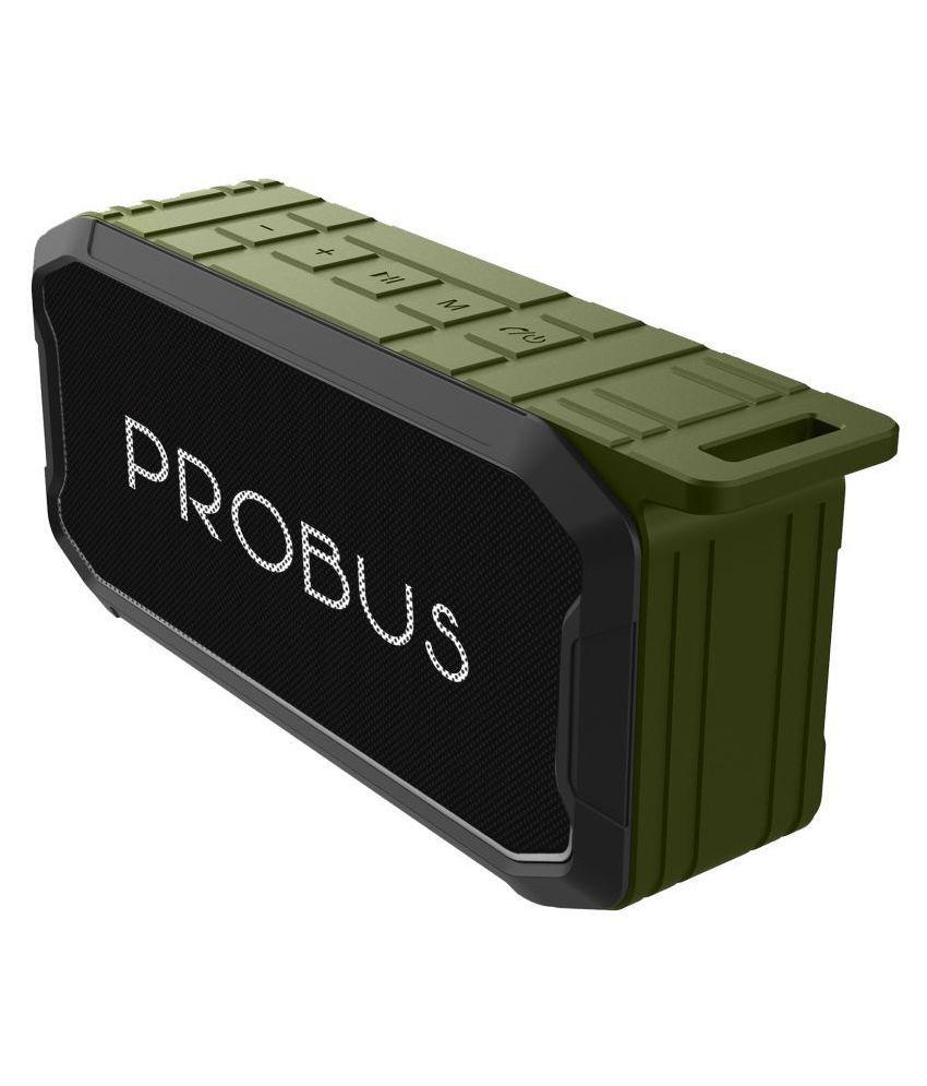 Probus High Bass Waterproof Bluetooth Speaker