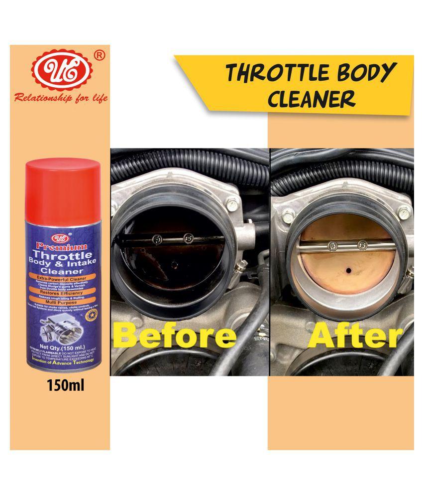 UE Premium Throttle Body Cleaner Spray 150 ML For Choke & Carburetor Cleaner Fuel Oil Deposit Spray Cleaner