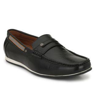 SHENCES Black Loafers