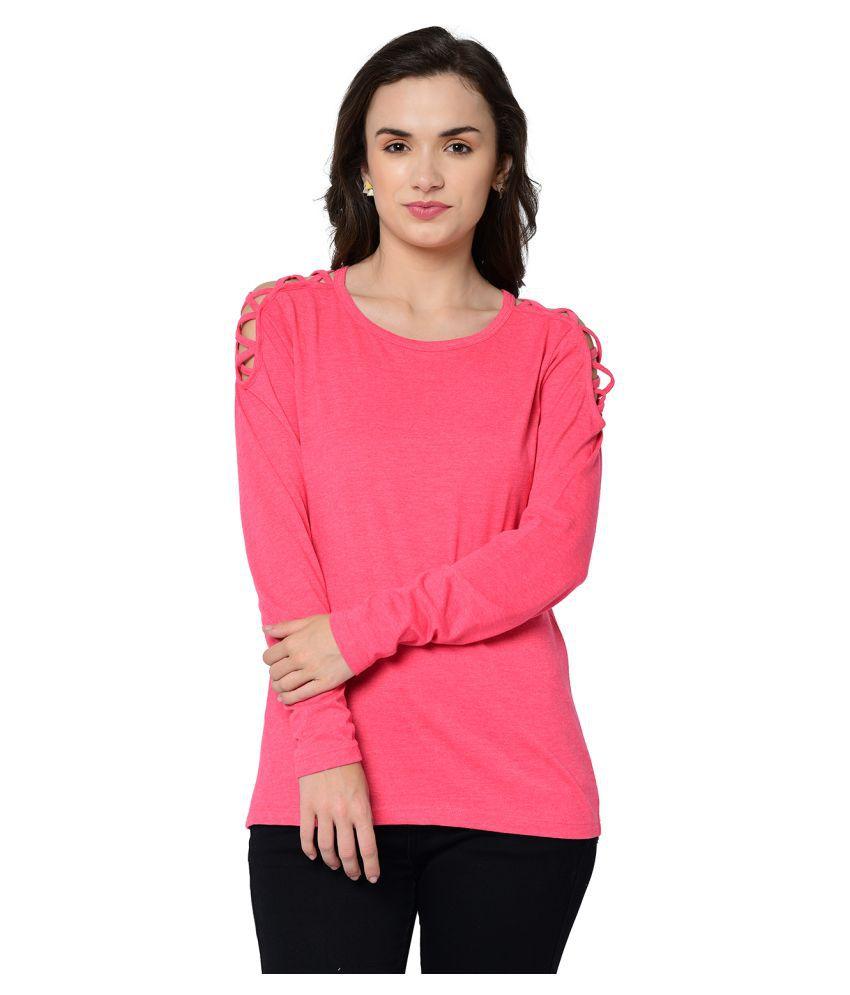2Bme Cotton Pink T-Shirts