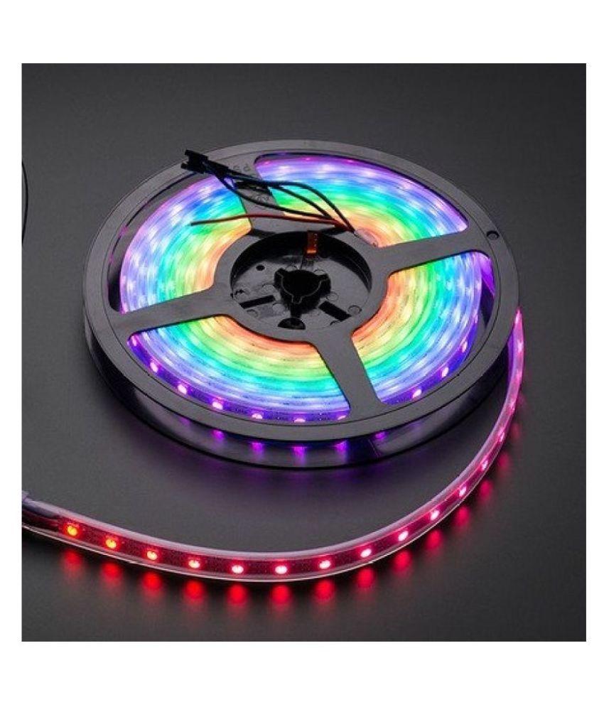 D'Mak Multi LED Strip Light 5 Meter - Pack of 1