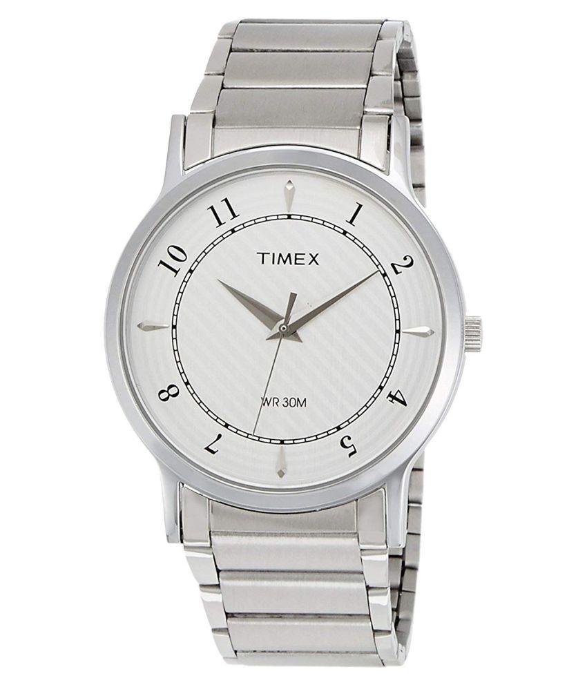 Timex TI000R40900 Stainless Steel Analog Men #039;s Watch