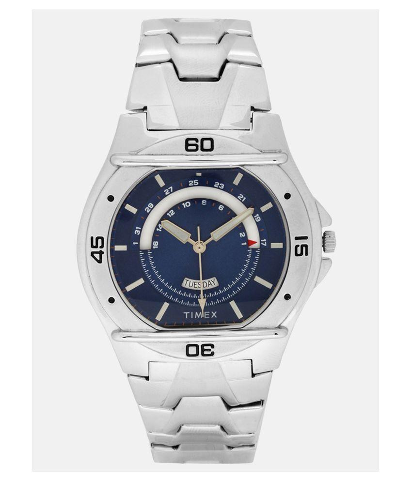 Timex Analog Blue Dial Men #039;s Watch TW000EL08