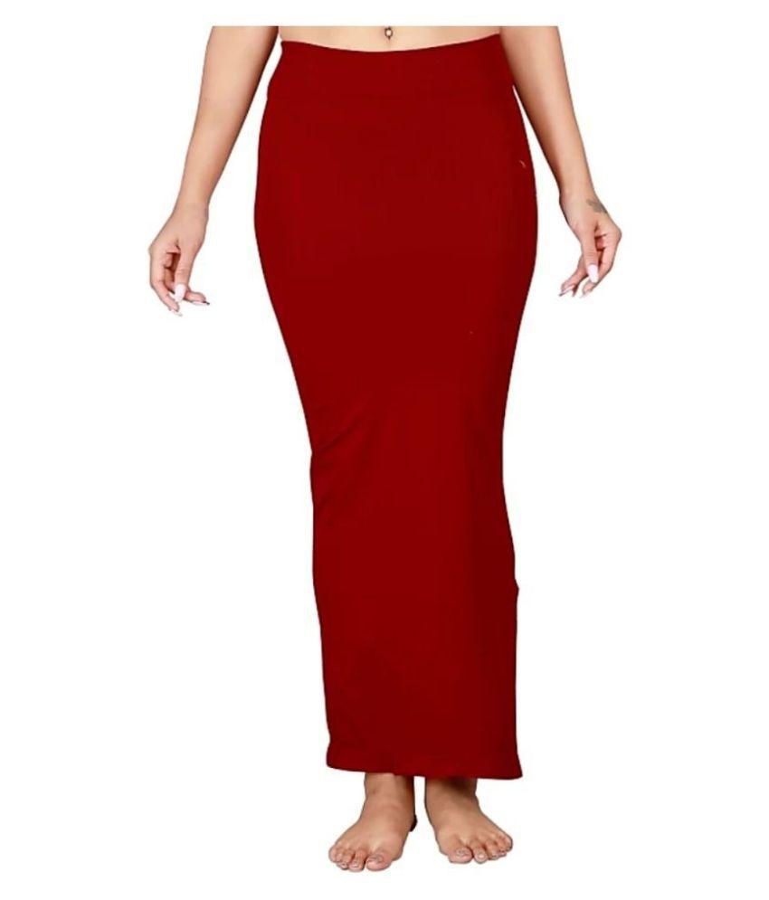 PKYC Maroon Lycra Petticoat