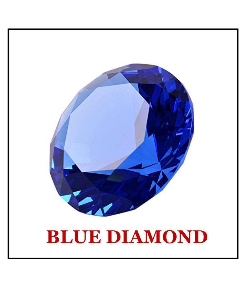 R.K Gems/ 6.25 Carat Original BLUE Diamond Gemstone
