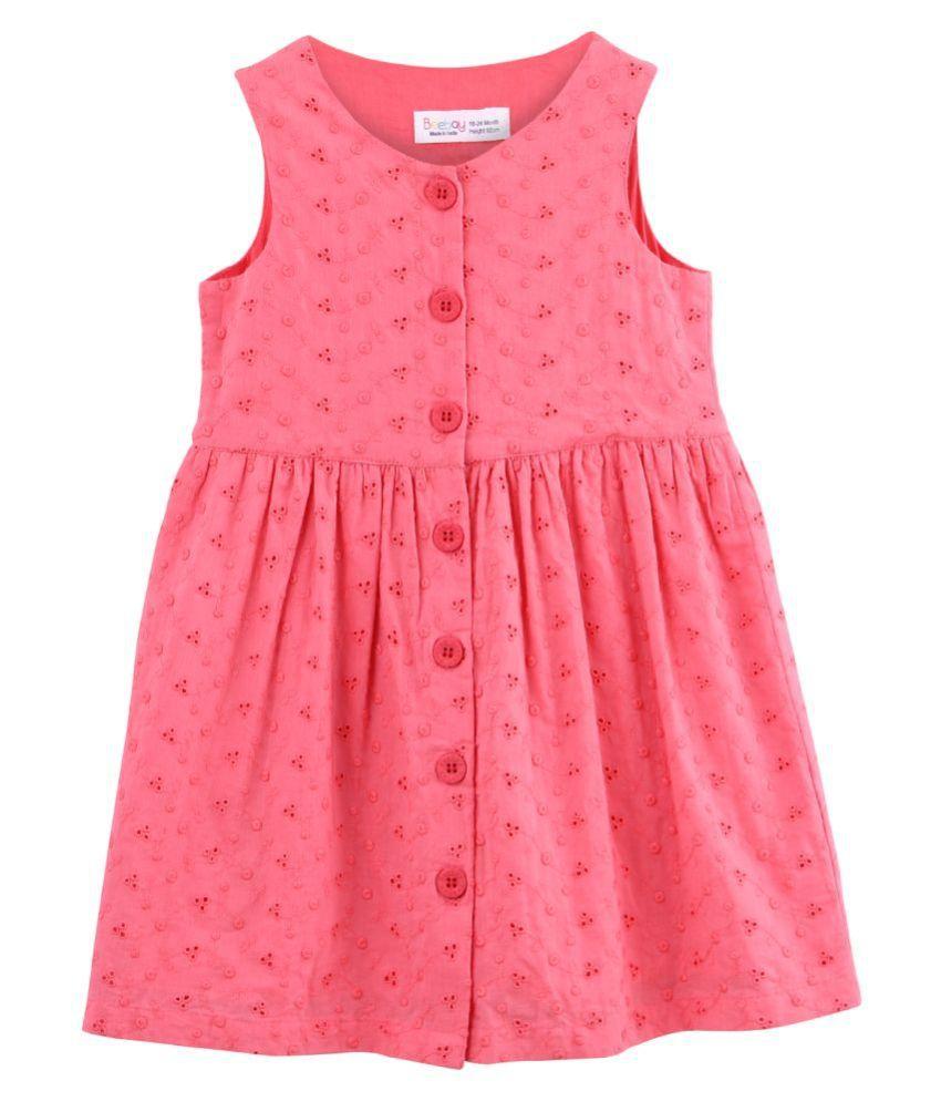 Schiffli  Button Through Dress 5Y