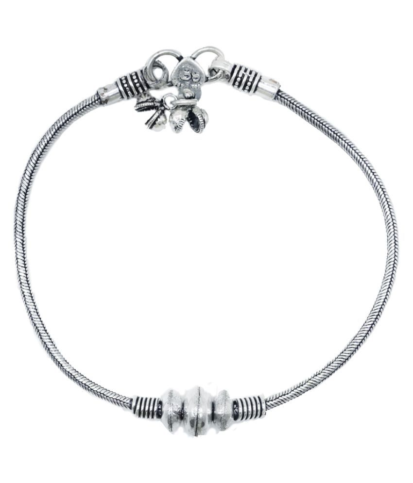 Exclusive Pure Silver Anklet for Girls and Women